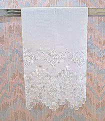 Linen towels, linen guest towels