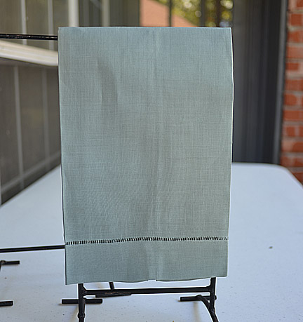 Gray hand towel, gray color guest towel, gray color hemstitch towels