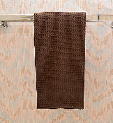 Chocolate Fondant colored waffle weaves