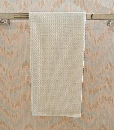 Waffle towel, cotton towel, Ivory color waffle towel