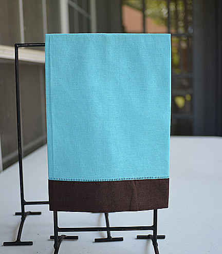 guest towel, hand towel, hemstitch towel, colored towels