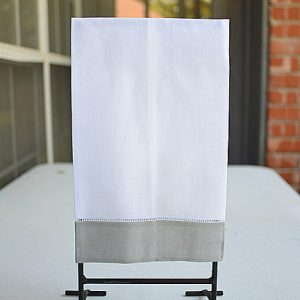 Guest towel, hand towel, hemstitch towels