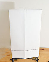 White Hemstitch Guest towels, white hand towels, white cotton towels